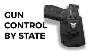 50 States and Their Stance on Gun Control