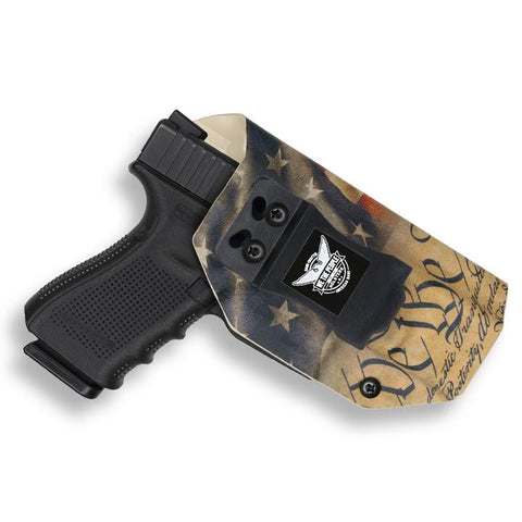 Gun Holster with Constitution Print