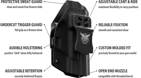 Features and Benefits of We The People Holsters Concealed Carry Holsters