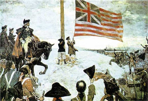 Grand Union Flag of the United States of America