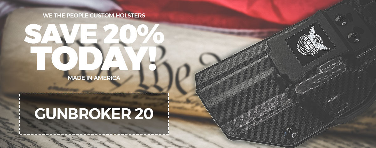 ave 20% on WTP American Made Holsters - GUNBROKER20