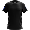 Basic - Black + Blue Short Sleeve Shirt