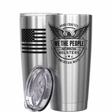 We The People Holsters Logo American Flag Stainless Steel Tumbler