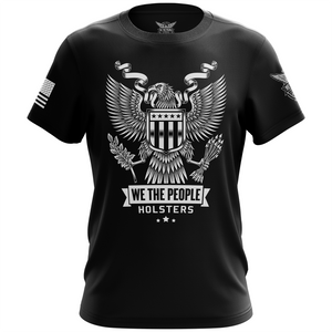 Heraldic Eagle with Shield Short Sleeve Shirt