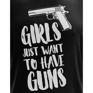 Girls Just Want to Have Guns Apparel Unisex T-Shirt