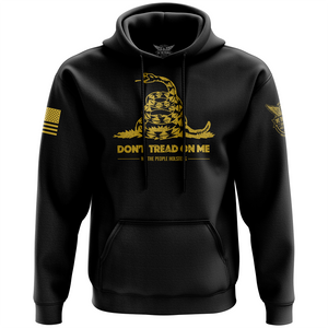 Don't Tread On Me Gadsden Flag Hoodie