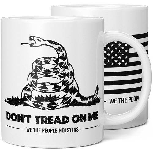 Gadsden Flag Dont Tread On Me Coffee Mug