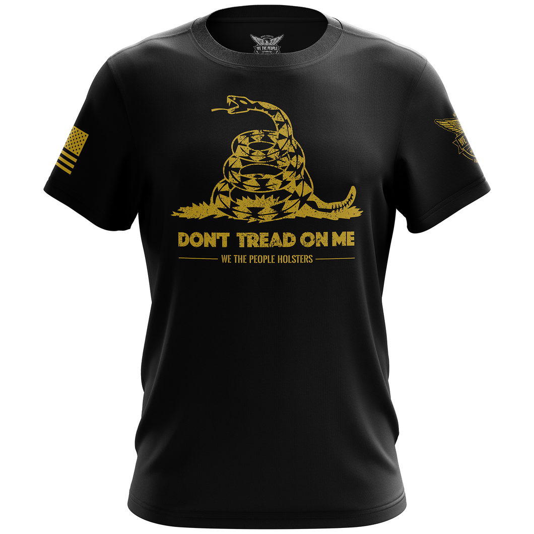 Dont Tread On Me Gadsden Flag Short Sleeve Shirt