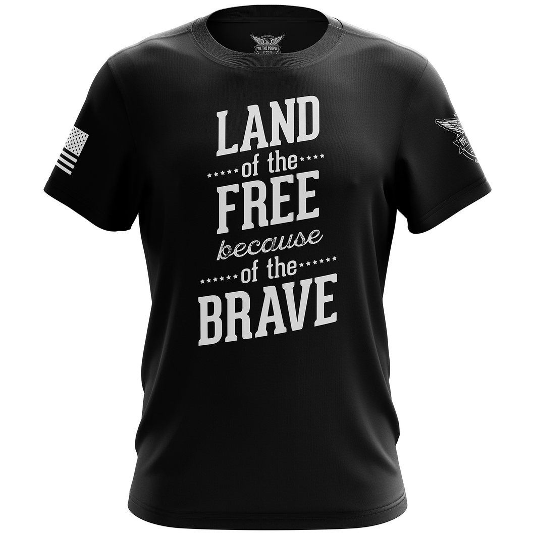 Land of the Free Short Sleeve Shirt