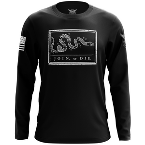 Join or Die Long Sleeve Shirt