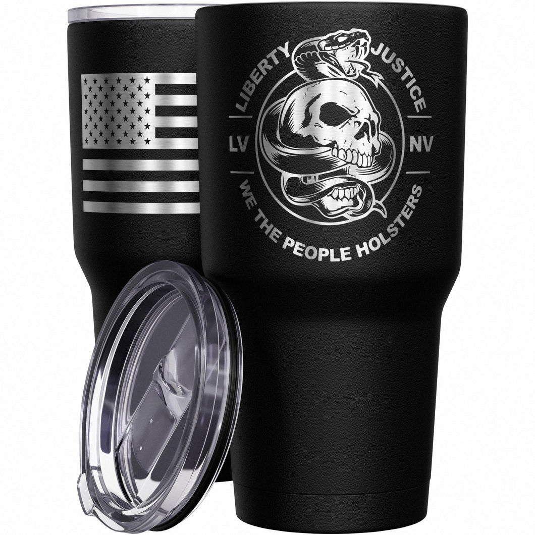 Liberty And Justice Stainless Steel Tumbler