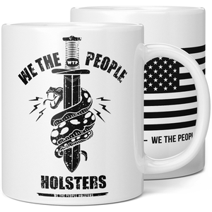 We The People Holsters Snake Logo Coffee Mug