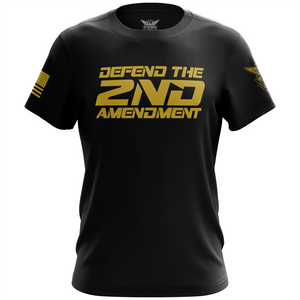 Defend the Second Amendment Unisex Black T-Shirt