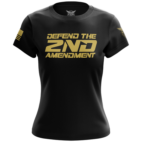 Defend the 2nd Amendment Women's Short Sleeve Shirt