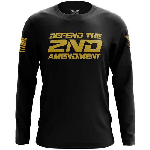 Defend the 2nd Amendment Long Sleeve Shirt