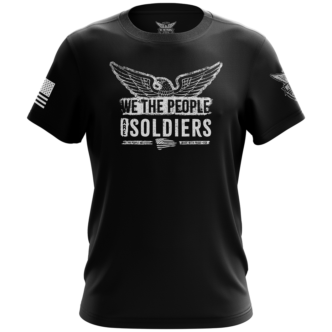 We The People Are Soldiers Unisex T-Shirt