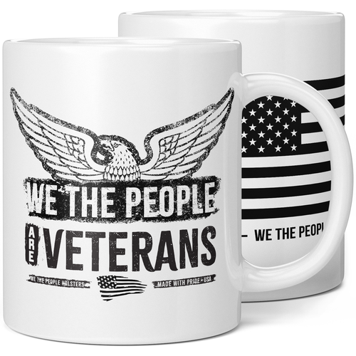 We The People Are Veterans Coffee Mug