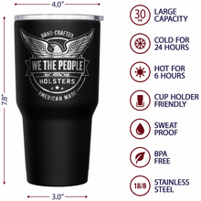 We The People Holsters Betsy Ross Flag Stainless Steel Tumbler
