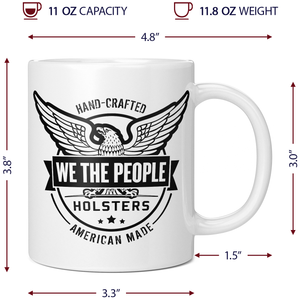 We The People Holsters Betsy Ross Flag Coffee Mug