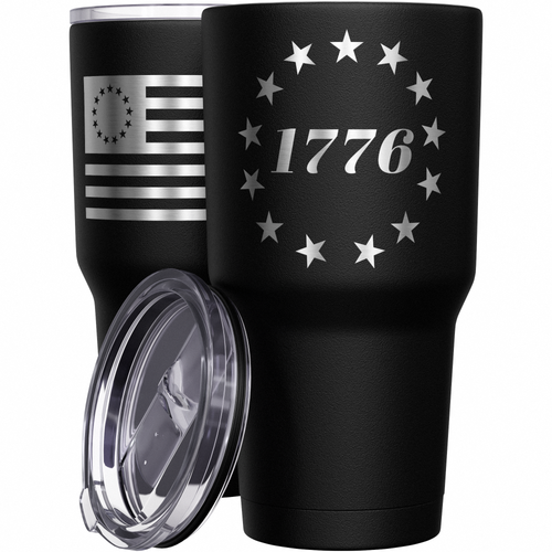 1776 Betsy Ross Flag Stainless Steel Tumbler