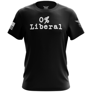0% Liberal Short Sleeve T-Shirt