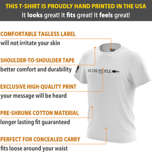 American Eagle Defend the 2nd Short Sleeve T-Shirt