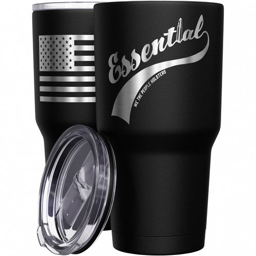Essential + American Flag Stainless Steel Tumbler