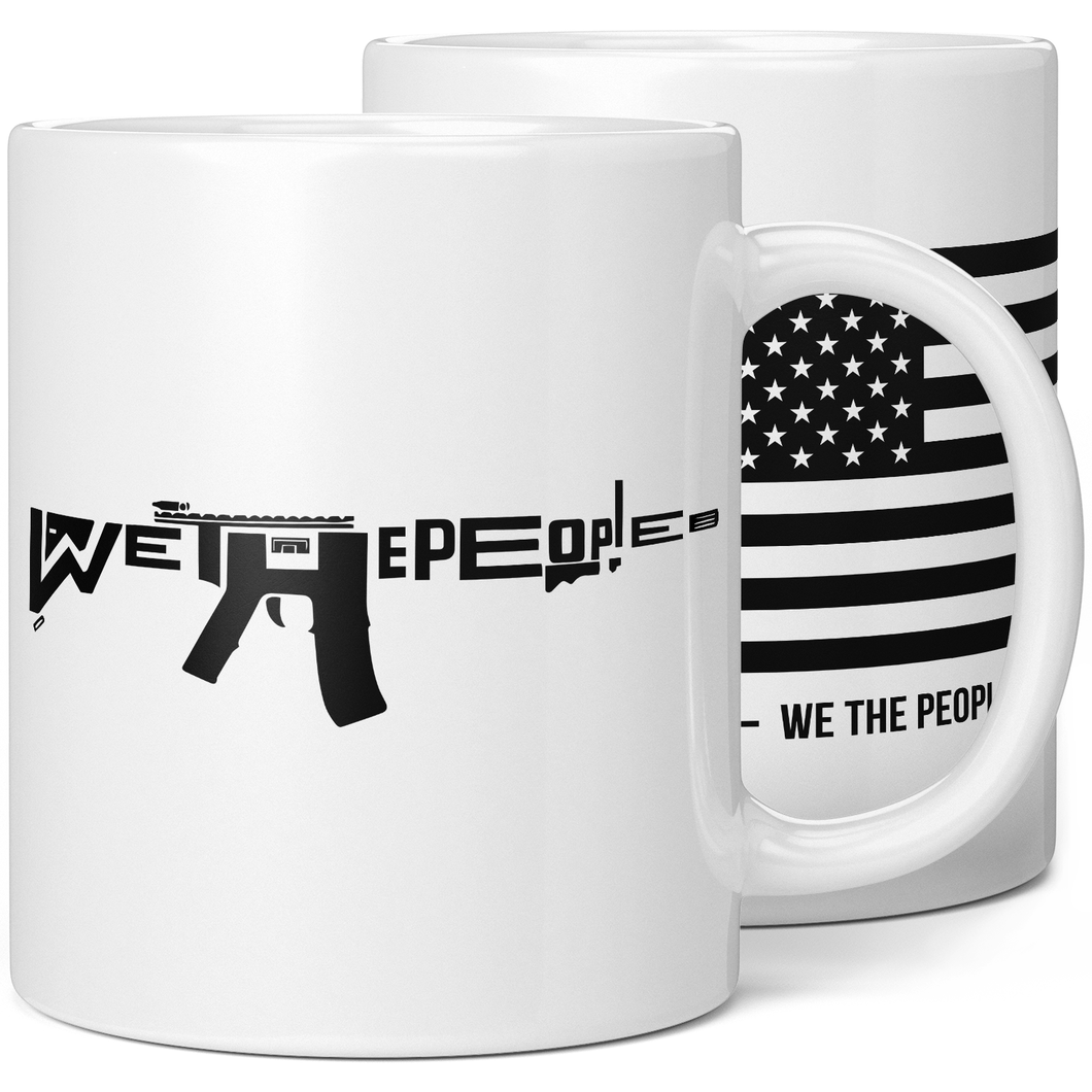 We The People AR-15 Coffee Mug