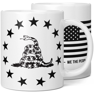 Betsy Ross Gadsden Flag Coffee Mug