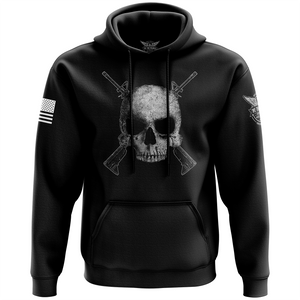 Cross Rifle Jolly Roger Hoodie