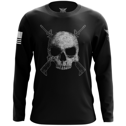 Cross Rifle Jolly Roger Long Sleeve Shirt