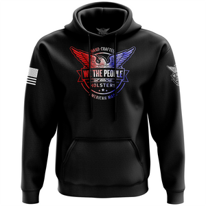 We The People Holsters Distressed Flag Logo Hoodie