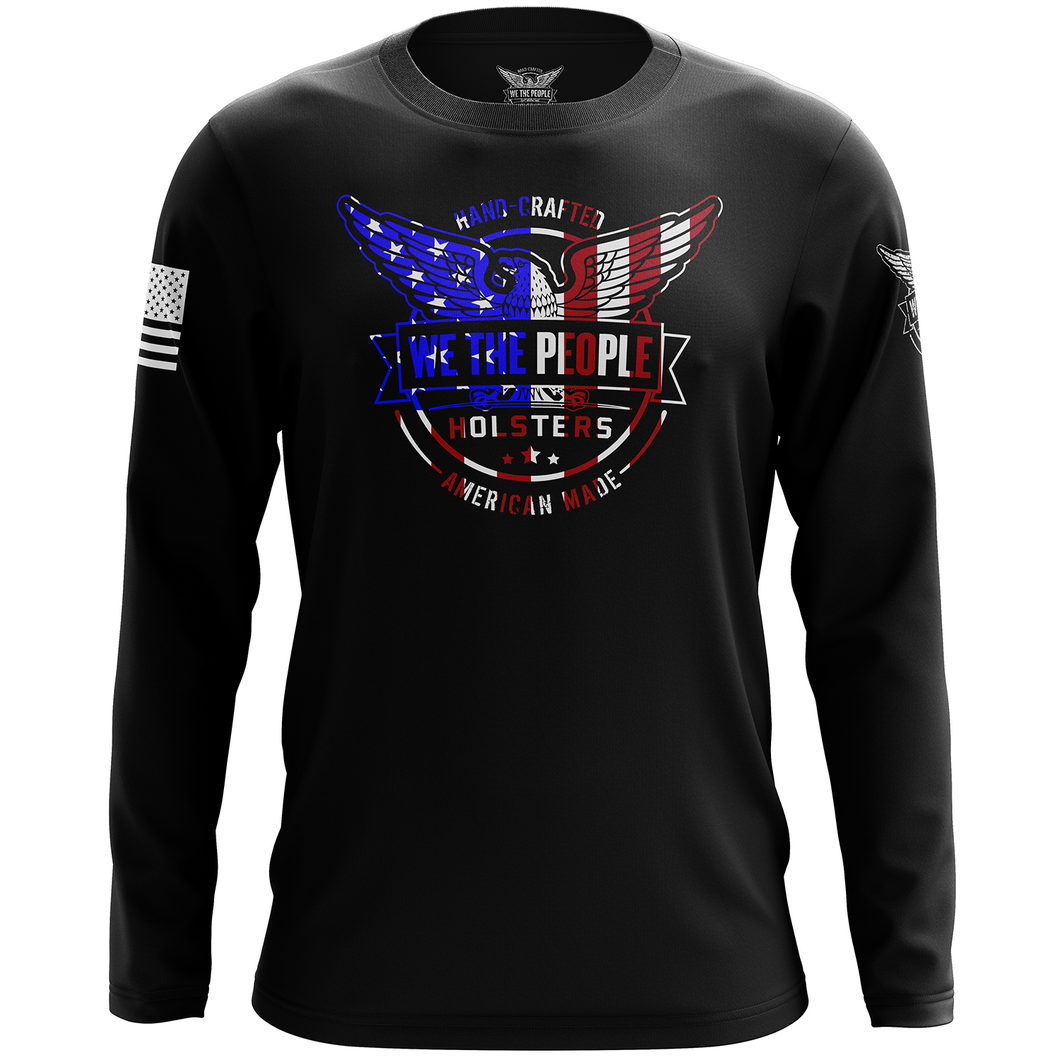 We The People Holsters Flag Logo Long Sleeve Shirt