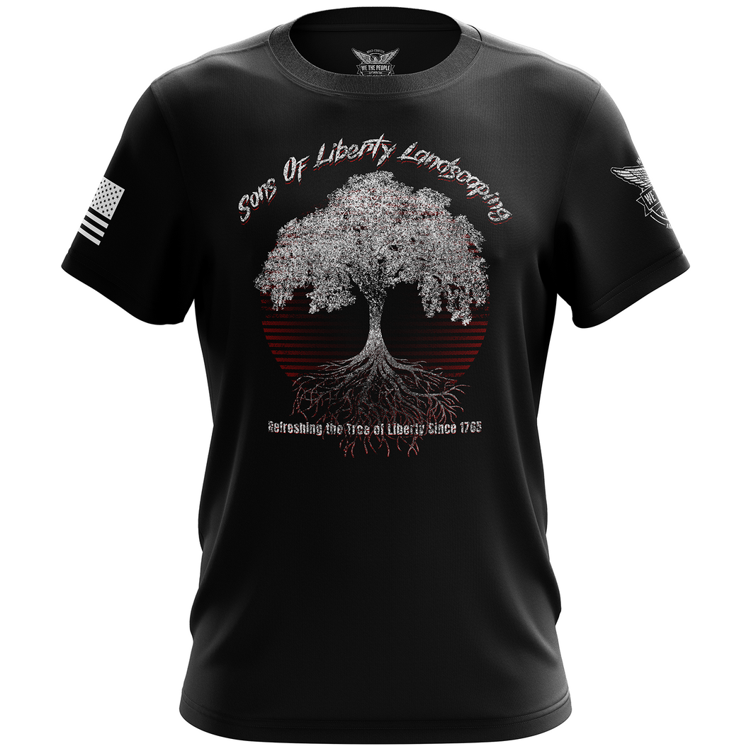Sons of Liberty Landscaping Short Sleeve T-Shirt