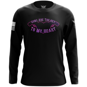 Guns Are The Key To My Heart Long Sleeve Shirt