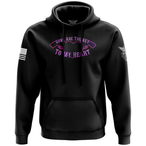 Guns Are The Key To My Heart Hoodie