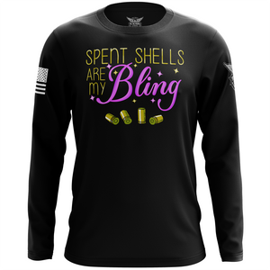 Spent Shells Are My Bling Long Sleeve Shirt