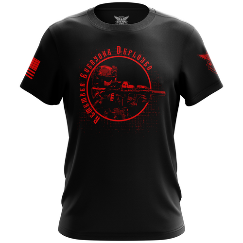 Remember Everyone Deployed (R.E.D.) Short Sleeve Shirt