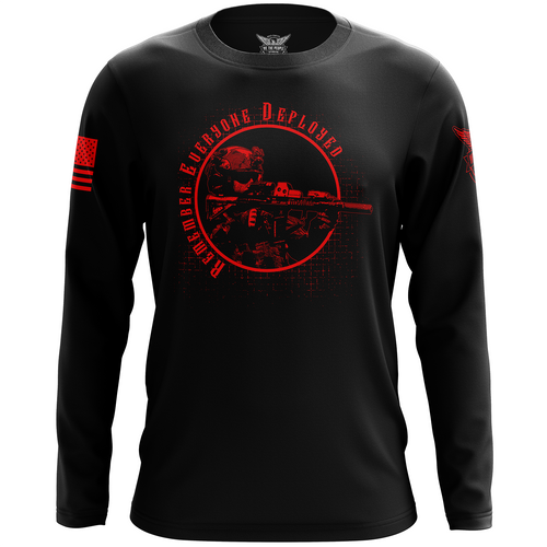 Remember Everyone Deployed (R.E.D.) Long Sleeve Shirt