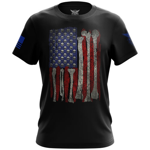 Skull Flag Short Sleeve Shirt