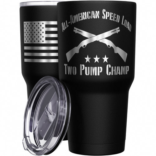 Two Pump Champ Stainless Steel Tumbler