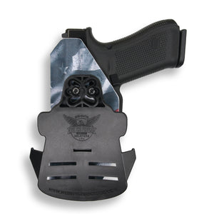 "Smith & Wesson M&P 9C/40C / M2.0 3.5""/3.6"" Compact with Streamlight TLR-7 Light OWB Holster"