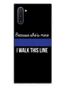 Because She's Mine - Police Officer Thin Blue Line Case
