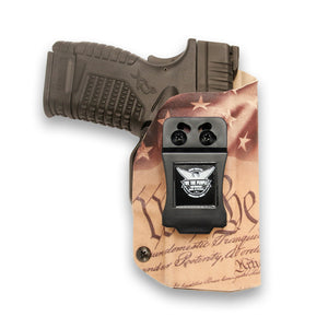 "Springfield XD-S 3.3"" 9MM/40SW/45ACP IWB KYDEX Holster"