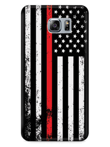 Downward American Flag - Thin Red Line Case