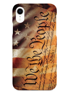 American Flag - Constitution - We the People Case