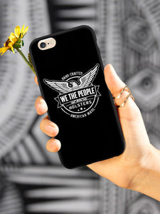 We The People Holsters Logo Cell Phone Case - Black