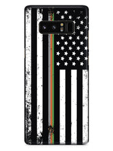 Downward American Flag - Thin Lines 2 Case