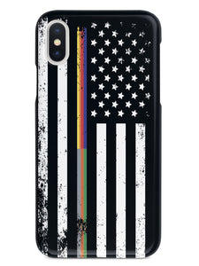 Downward American Flag - Thin Lines Combo Case
