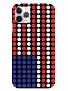Dotted American Flag Case
